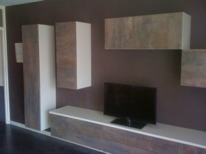 fabrication meuble TV sur mesure