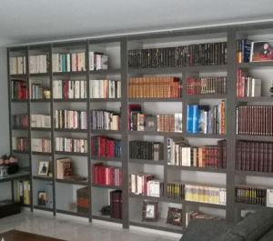 bibliothèque sur mesure sur Nantes