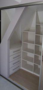exemple d'intérieur de placard pour une buanderie