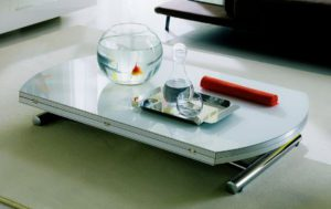 table modulable en hauteur, version basse